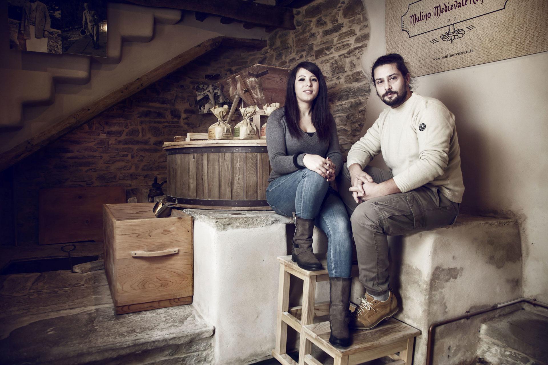Stefano Piergentili e Cinzia Corgnioli - portrait